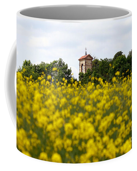 Czech Coffee Mug featuring the photograph Ruins Of The Church Of St Wenceslas by Michal Boubin