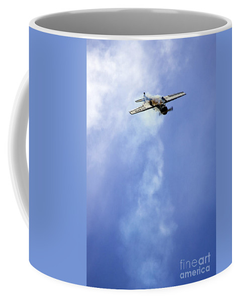 Airshow Coffee Mug featuring the photograph Solo by Angel Tarantella
