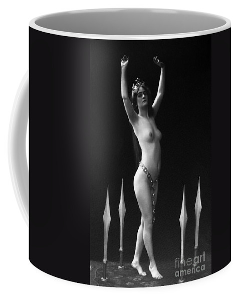 1920 Coffee Mug featuring the painting Sword Dance, C1920 by Granger