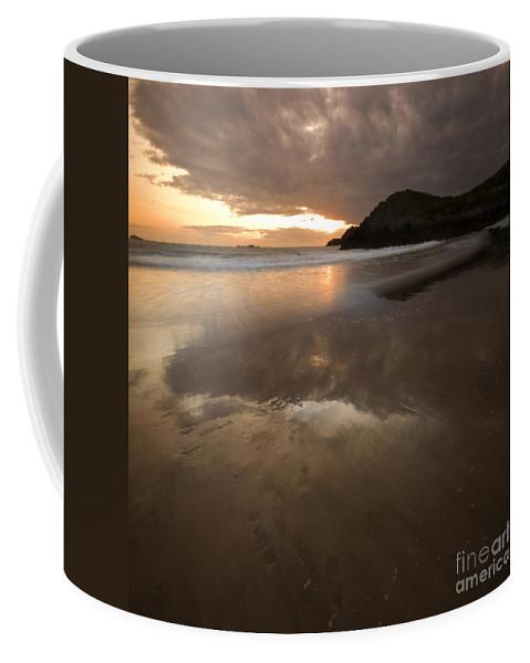 Sea Coffee Mug featuring the photograph The Low Tide by Angel Ciesniarska