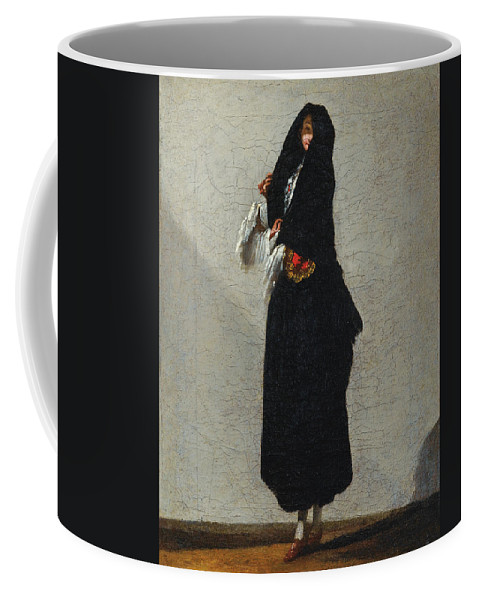 Jean Barbault Coffee Mug featuring the painting The Venitian by Jean Barbault
