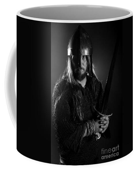 Warriors Coffee Mug featuring the photograph The Warrior by Gunnar Orn Arnason