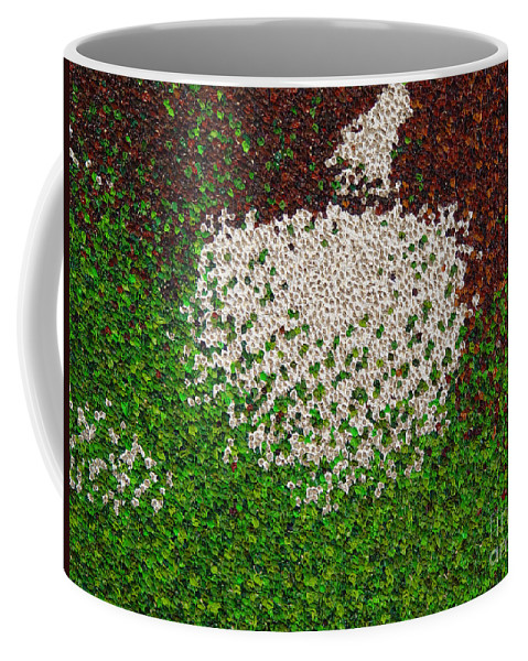 Abstract Coffee Mug featuring the painting Untitled by Dean Triolo