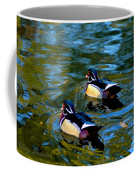Clay Coffee Mug featuring the photograph Wood Duck by Clayton Bruster