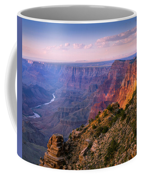 Grand Canyon National Park Coffee Mug featuring the photograph Canyon Glow by Mikes Nature