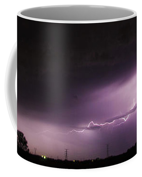 Nebraskasc Coffee Mug featuring the photograph 6th Storm Chase 2015 by NebraskaSC