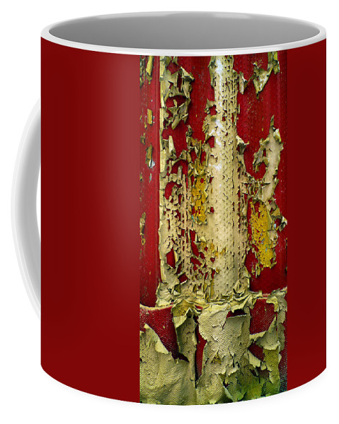 Abstract Coffee Mug featuring the photograph 377 At 41 Series 5 by Skip Hunt
