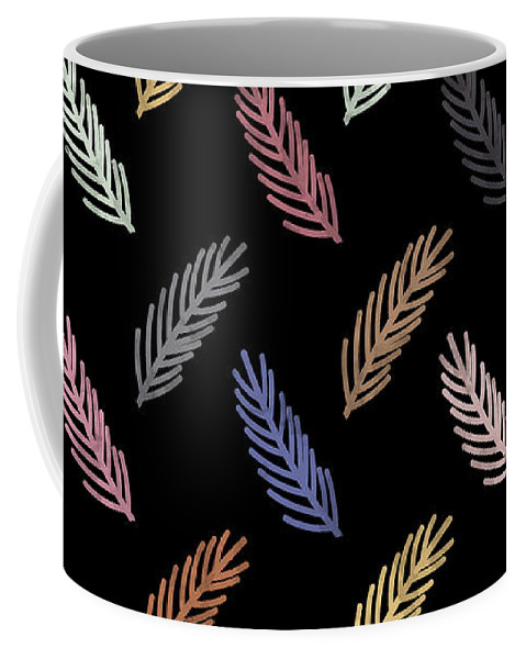 Watercolor Coffee Mug featuring the digital art Lovely Pattern by Amir Faysal