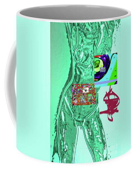 Walter Paul Bebirian Coffee Mug featuring the digital art 4-1-2015fabcdefghijklmnopqrtuvw by Walter Paul Bebirian