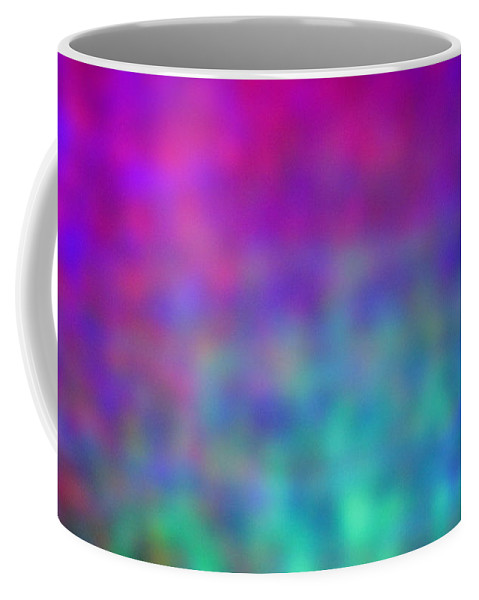 Abstract. Coffee Mug featuring the photograph 4-16-18#15 by Mark Mulier