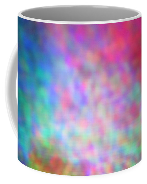 Abstract. Coffee Mug featuring the photograph 4-16-18#20 by Mark Mulier