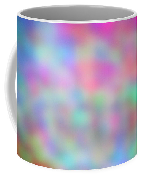Abstract. Coffee Mug featuring the photograph 4-16-18#22 by Mark Mulier