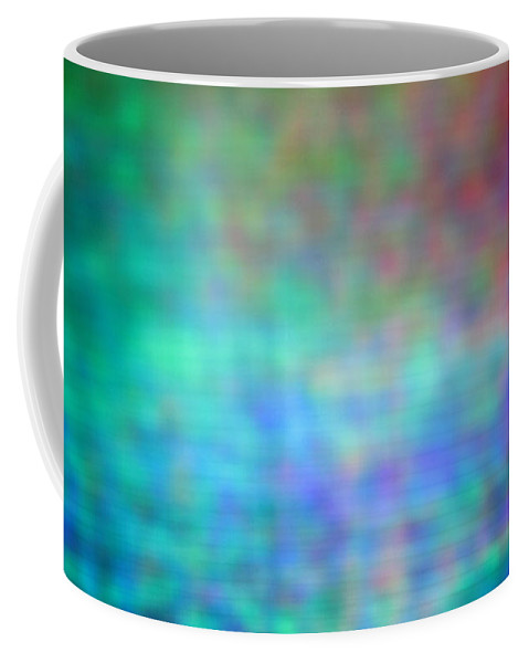Abstract. Coffee Mug featuring the photograph 4-19-18#13 by Mark Mulier
