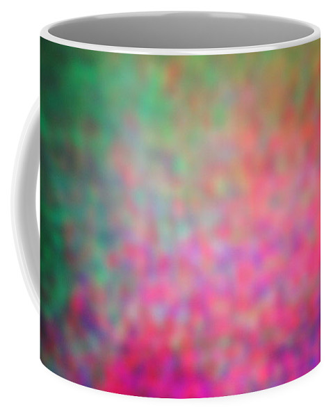 Abstract. Coffee Mug featuring the photograph 4-19-18#16 by Mark Mulier