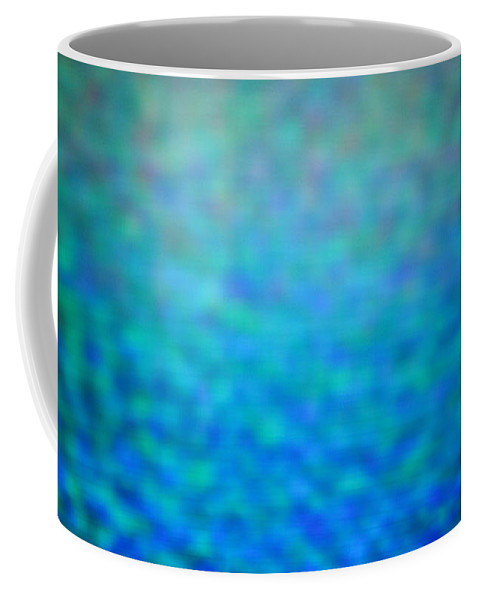 Abstract. Coffee Mug featuring the photograph 4-19-18#3 by Mark Mulier