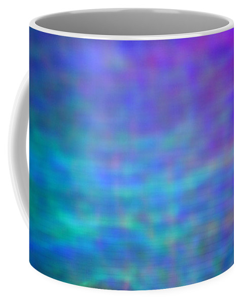 Abstract. Coffee Mug featuring the photograph 4-19-18#7 by Mark Mulier