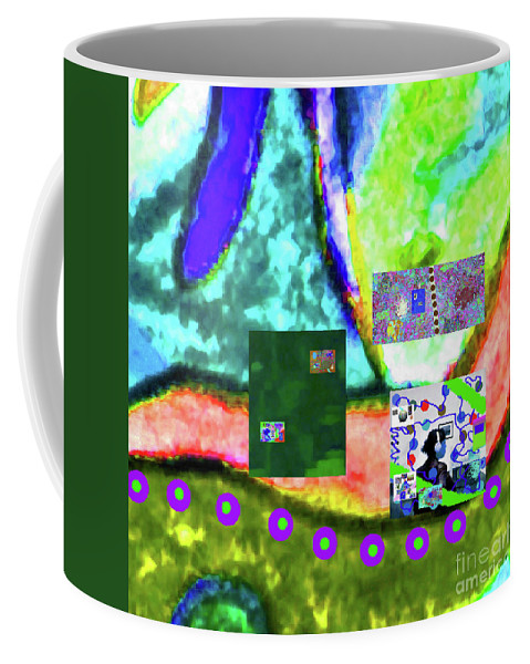 Walter Paul Bebirian Coffee Mug featuring the digital art 4-22-2015dabcdefgh by Walter Paul Bebirian