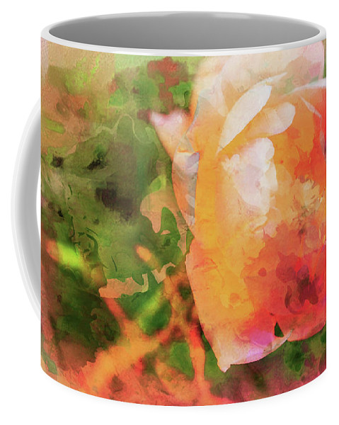 American Beach Cottage Art And Feelings Coffee Mug featuring the photograph American Beach Cottage Art And Feelings by Paul Ranky
