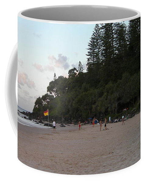 Australia Coffee Mug featuring the photograph Australia - Greenmount Surf Club On Patrol by Jeffrey Shaw