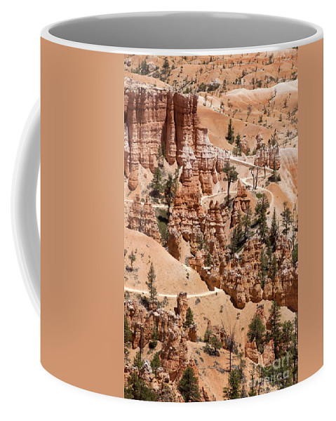 Bryce Canyon Coffee Mug featuring the photograph Bryce Canyon - Utah by Anthony Totah