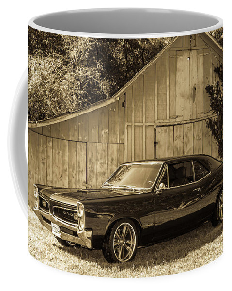 Gto Coffee Mug featuring the photograph Classic Cars by Mickie Bettez