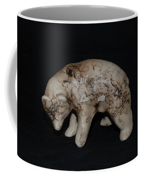 Four Corners Coffee Mug featuring the photograph 4 Corners Bear by Rob Hans