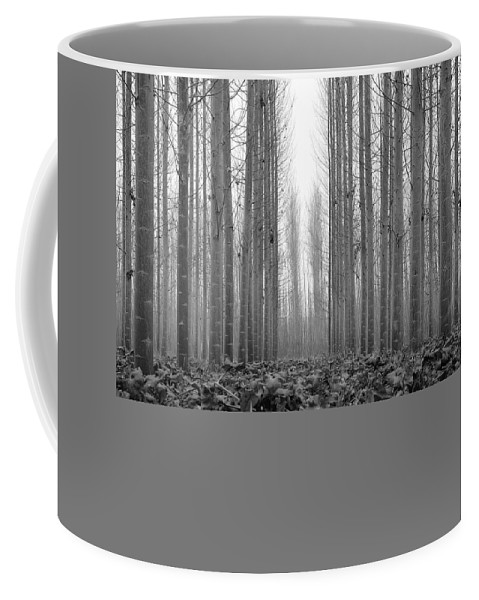 Monochrome Coffee Mug featuring the photograph Foggy Morning by Guido Montanes Castillo