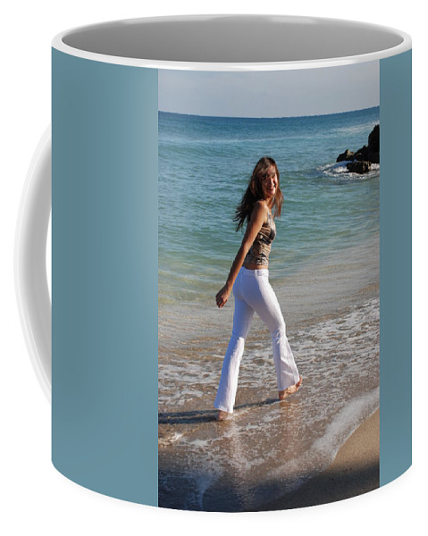 Women Coffee Mug featuring the photograph Gisele by Rob Hans