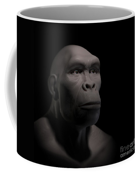 Digitally Generated Image Coffee Mug featuring the photograph Homo Habilis by Science Picture Co