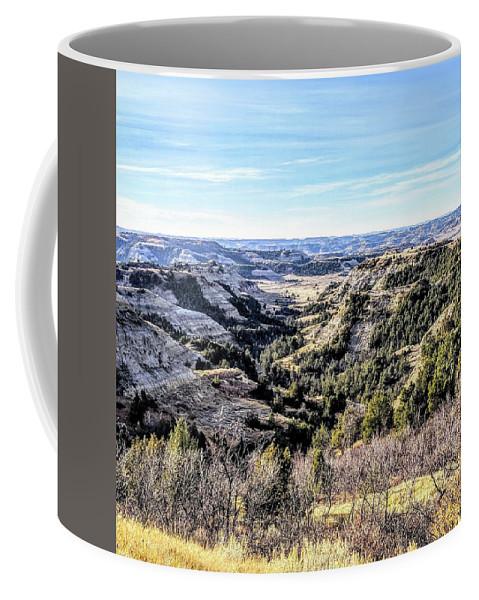 Landscape Coffee Mug featuring the photograph Landscape by Justin Parkinson