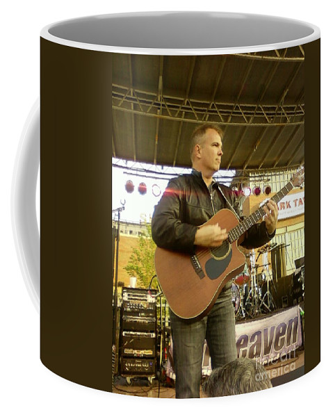Nick Cox Coffee Mug featuring the photograph Nick Cox Of 7th Heaven by Alfie Martin