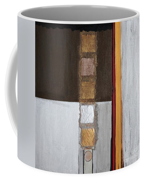Sets Coffee Mug featuring the painting 4 Perplex 2 by Marlene Burns