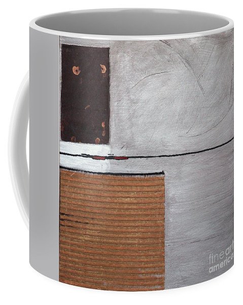 Set Coffee Mug featuring the painting 4 Perplex 4 by Marlene Burns