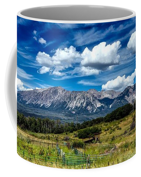 Rocky Mountains Coffee Mug featuring the photograph Rocky Mountain High by Mountain Dreams