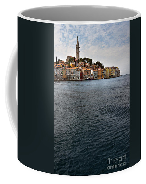 Architecture Coffee Mug featuring the photograph Seaside Town by Svetlana Sewell
