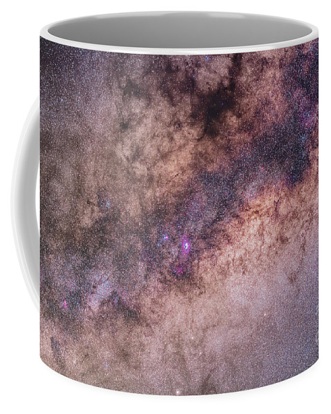 Australia Coffee Mug featuring the photograph The Center Of The Milky Way by Alan Dyer
