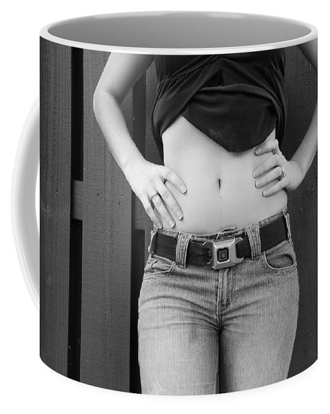 Body Coffee Mug featuring the photograph The G M Belt by Rob Hans