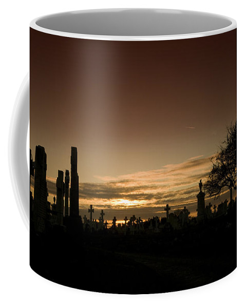 Graveyard Coffee Mug featuring the photograph The Graveyard by Angel Tarantella