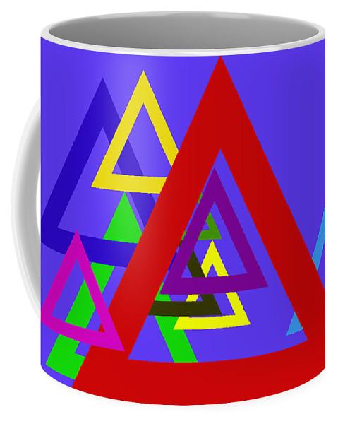 Abstract Coffee Mug featuring the digital art 4 U by John Saunders