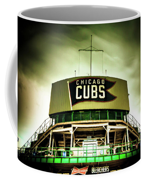 Chicago Coffee Mug featuring the photograph Wrigley Field Bleachers by Anthony Doudt