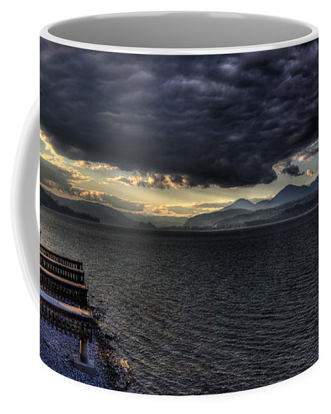 Scenic Coffee Mug featuring the photograph 41 South Sandpoint by Lee Santa