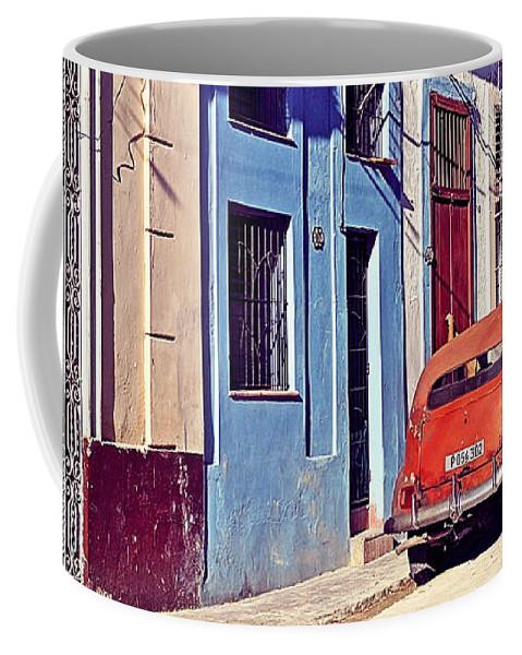 Havana Coffee Mug featuring the photograph Havana Cuba by Chris Andruskiewicz