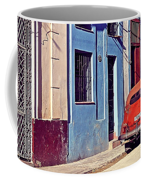 Havana Coffee Mug featuring the photograph Havana Cuba by Chris Andruskiewicz