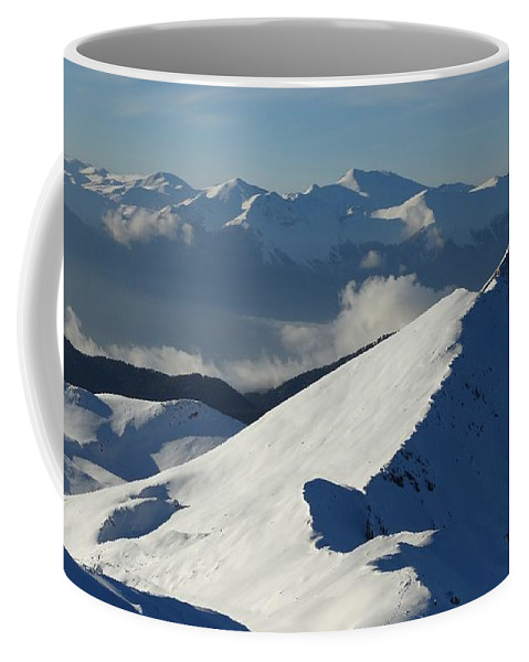 Mountain Coffee Mug featuring the photograph Mountain by FL collection
