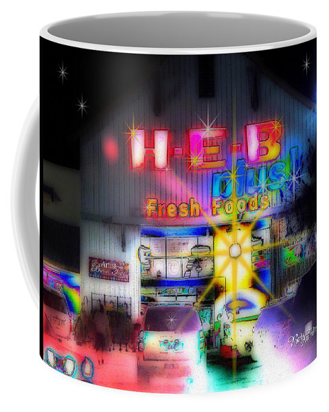 Barbara Tristan Coffee Mug featuring the photograph #4570_heb_1_arty by Barbara Tristan