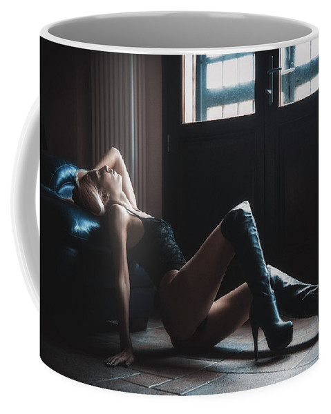 Adult Coffee Mug featuring the photograph ... by Traven Milovich