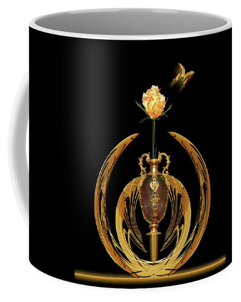 Vase Coffee Mug featuring the photograph 4605 by Peter Holme III