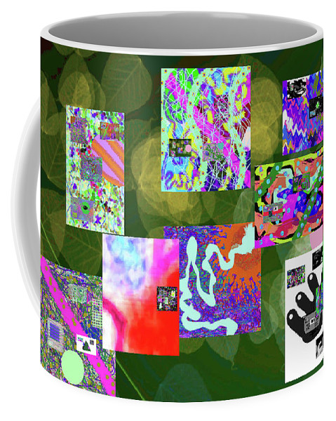 Walter Paul Bebirian Coffee Mug featuring the digital art 5-25-2015ca by Walter Paul Bebirian