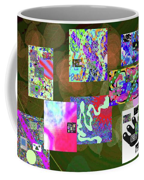 Walter Paul Bebirian Coffee Mug featuring the digital art 5-25-2015cabcd by Walter Paul Bebirian