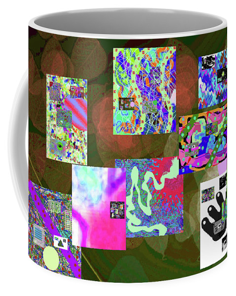 Walter Paul Bebirian Coffee Mug featuring the digital art 5-25-2015cabcde by Walter Paul Bebirian